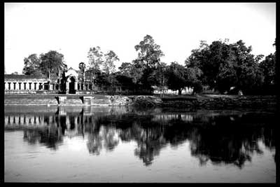 the moat, Angkor Wat